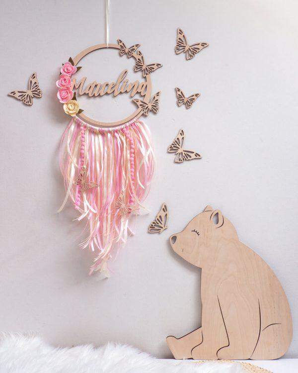 Łapacz snów z motylami dla dziecka