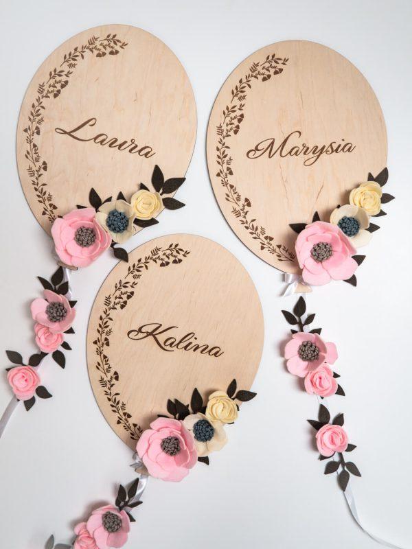 balonik z kwiatkami 2