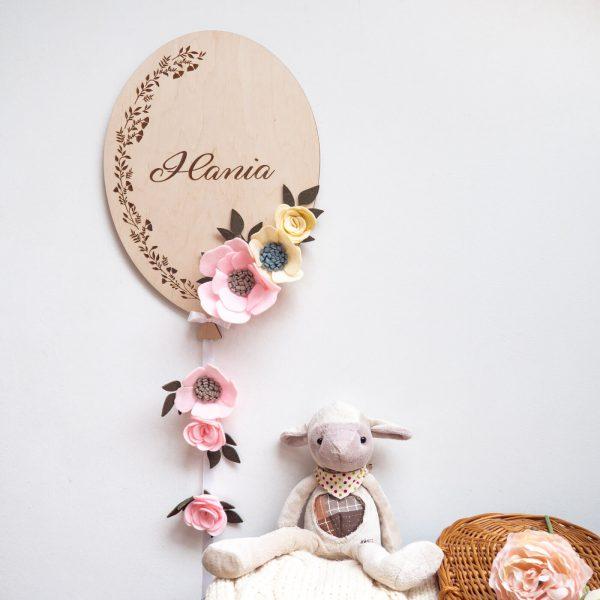 balonik z kwiatkami 3