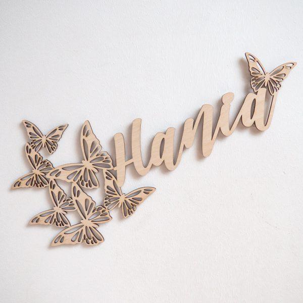 imię z motylami