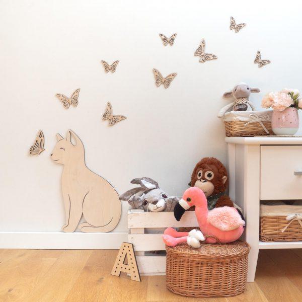 kotek z motylkiem wersja 2