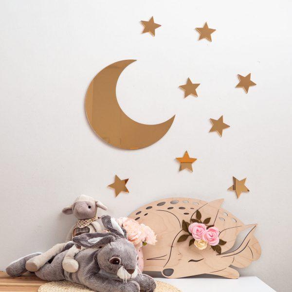 księżyc złote lustro 1