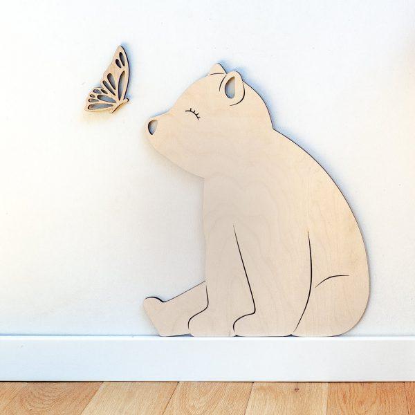 niedźwiadek z motylkiem 2