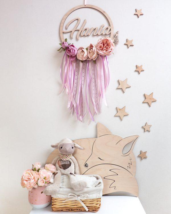 łapacz snów z kwiatami