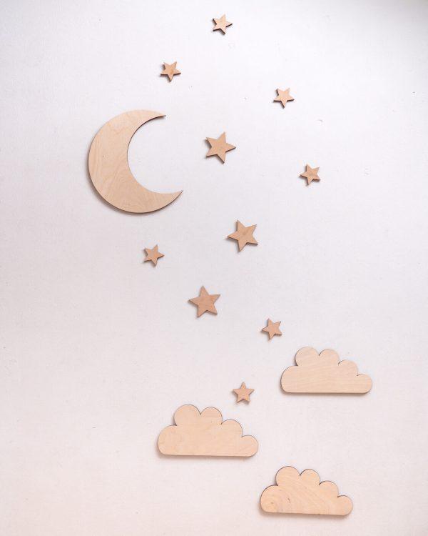 księżyc z gwiazdkami 2