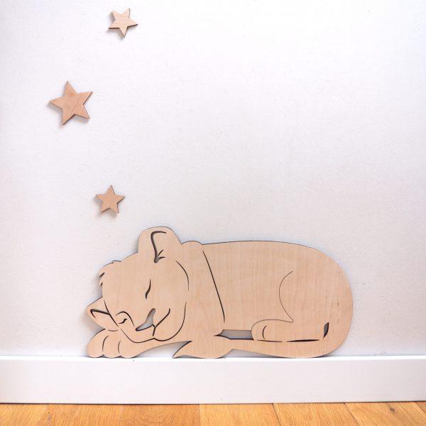 lew śpiący