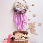 łapacz kwiecisty fioletowy