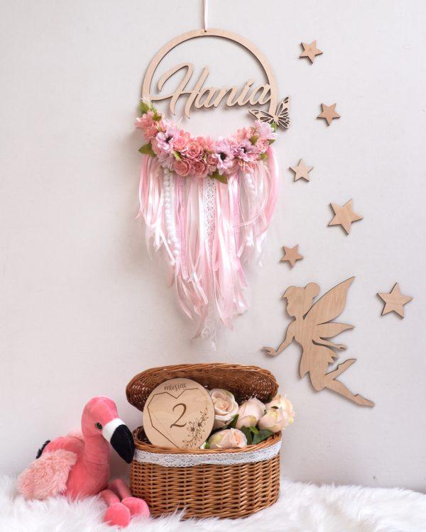 łapacz kwiecisty różowy