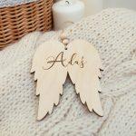 Zawieszka choinkowa anielskie skrzydła