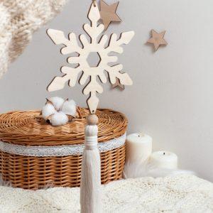 Świąteczna dekoracja zawieszka bożonarodzeniowa