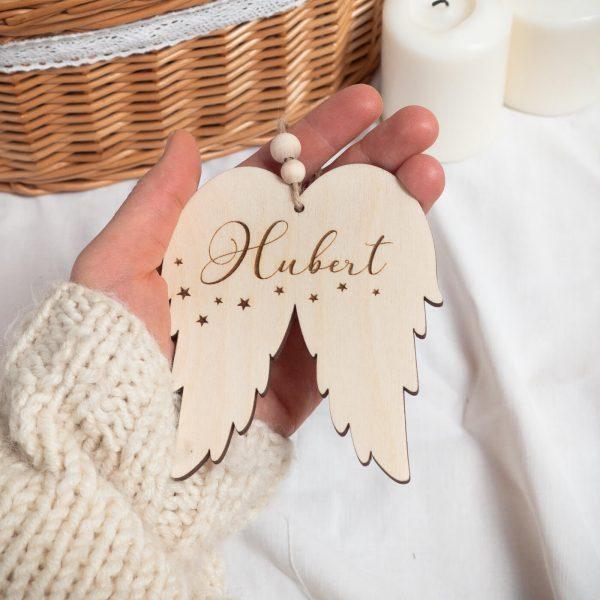 Zawieszka choinkowa skrzydła anioła