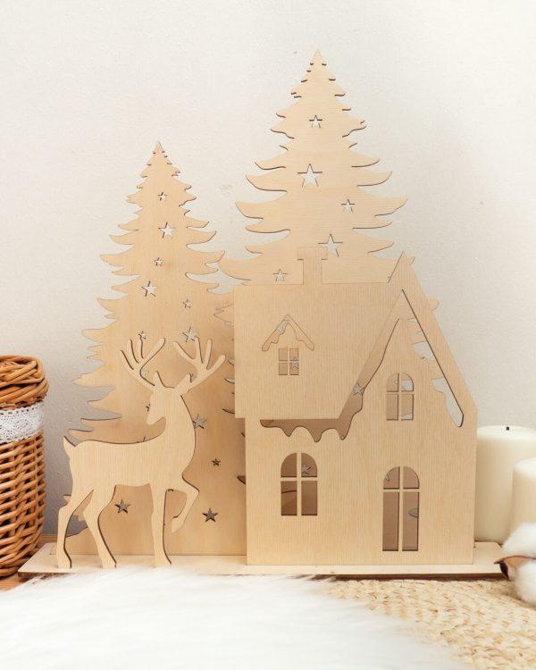 Domek zimowy