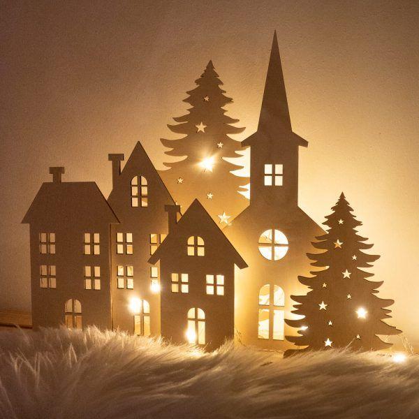 Domki zimowe
