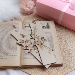 Zestaw zakładek do książki na prezent