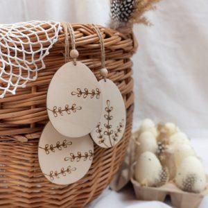 Wielkanocne dekoracje drewniane