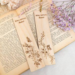 Zakładka drewniana do ksiązki