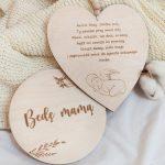 Serce z modlitwą Aniele Bozy dla Chłopca